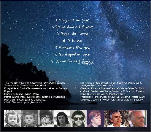 L'album de Patrick Giani