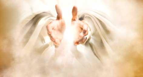mains de Dieu