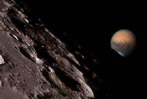 Mars et la canicule de 2003